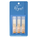 Royal Bb Clarinet Reeds, Pack of 3 (Strength 2.5)