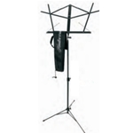 Hamilton Sheet Music Stand with Bag - Black