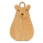 Green Tones Baby Bear Wood Shaker