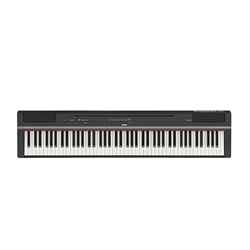 Yamaha 88 Note P125 Digital Piano - Black