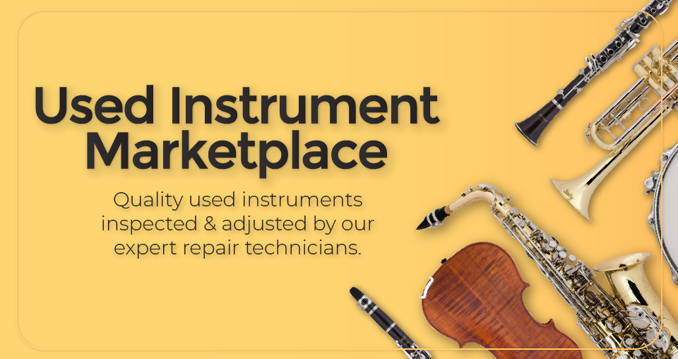 Introducing the New Used Instrument Marketplace
